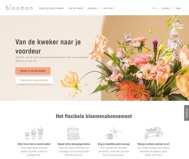 bloomon-homepage-screenshot-be