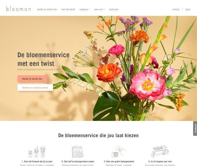 bloomon-homepage-screenshot-nl