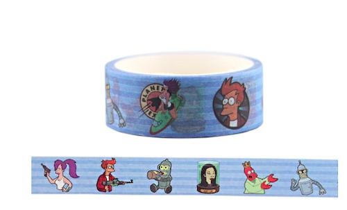 futurama-washi-tape