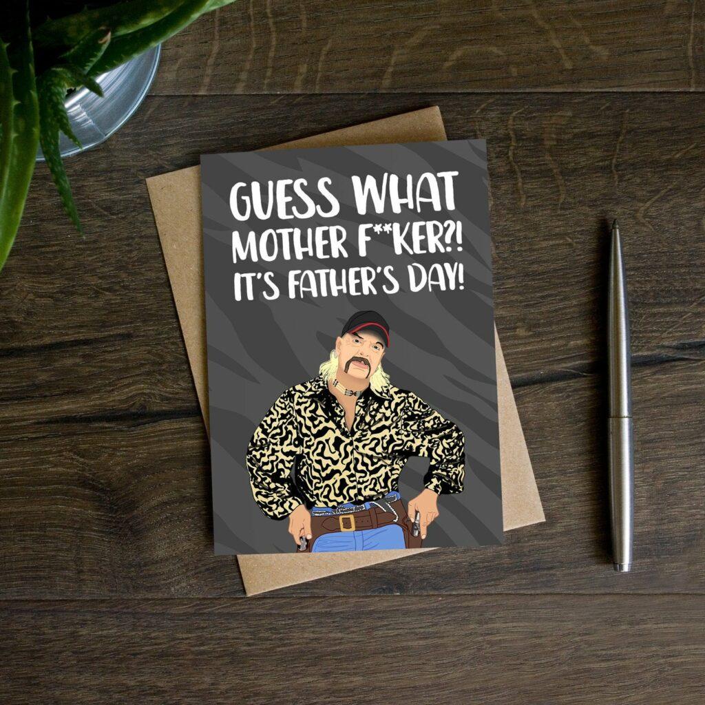 joe-exotic-vaderdag-kaart-grappig