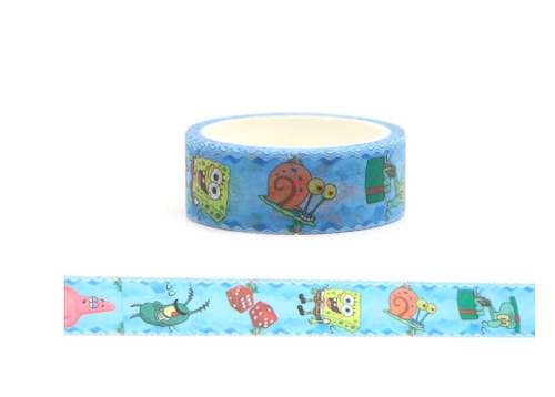 spongebob-washi