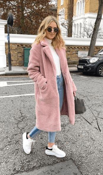 fluffy-coat-roze-stylen