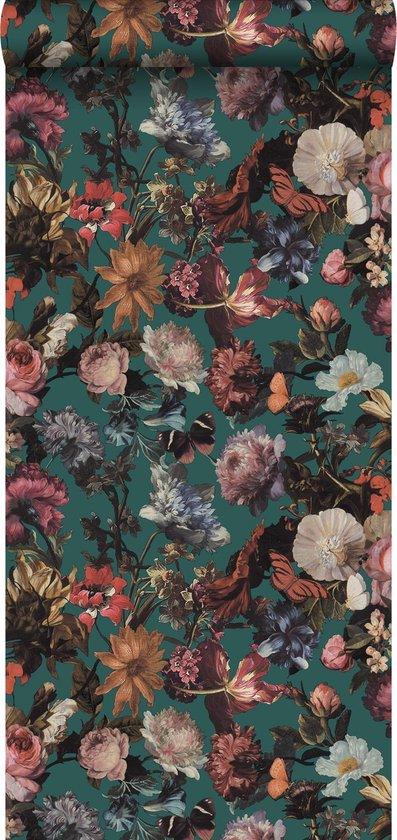 behangpapier-bloemen