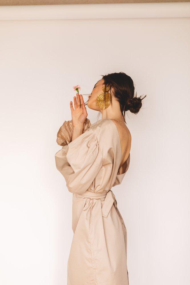 halflang-haar-knotje
