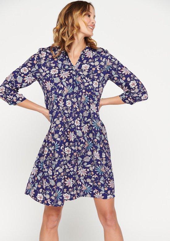 babydoll-jurk-met-bloemenprint