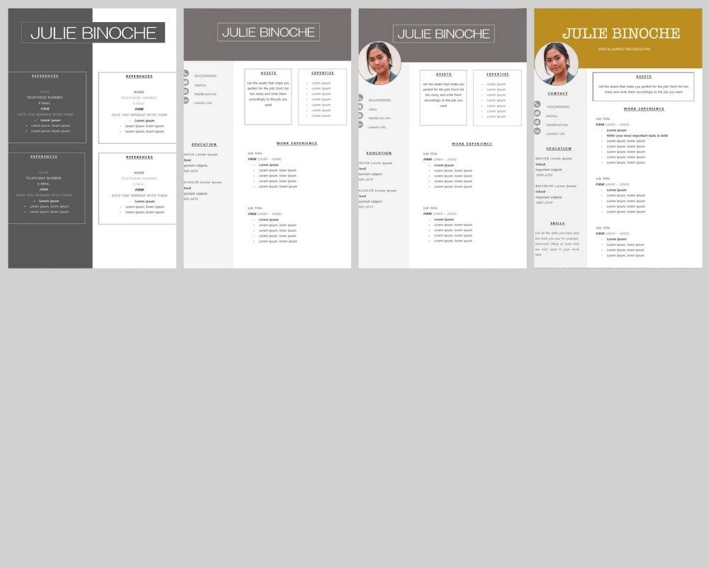 sollicitatiebrief-templates