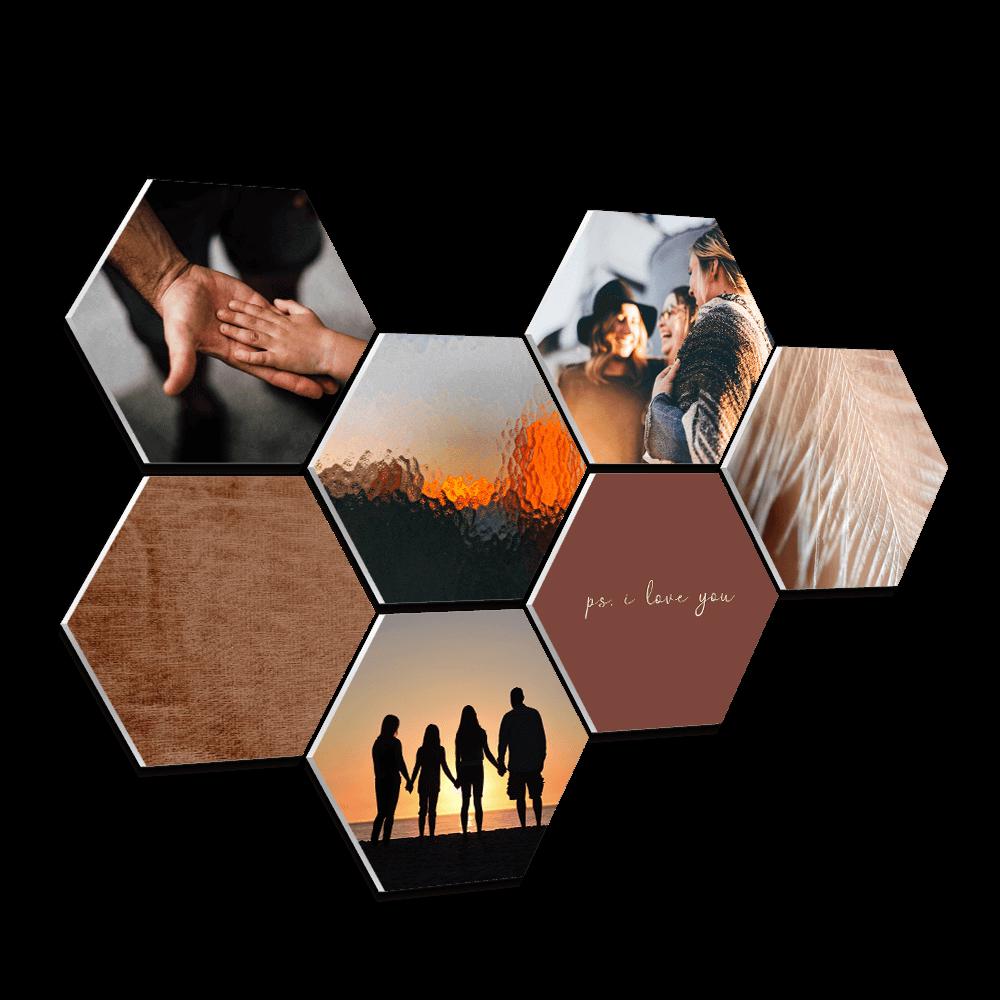 hexagons-foto-muur